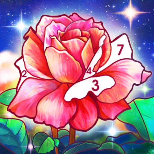Color by Number : Calm Art free software for iPhone and iPad