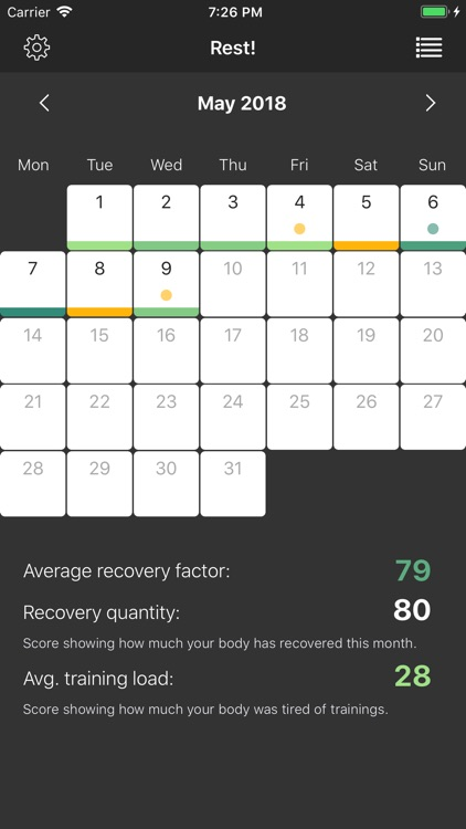 Rest! - recovery tracker screenshot-3