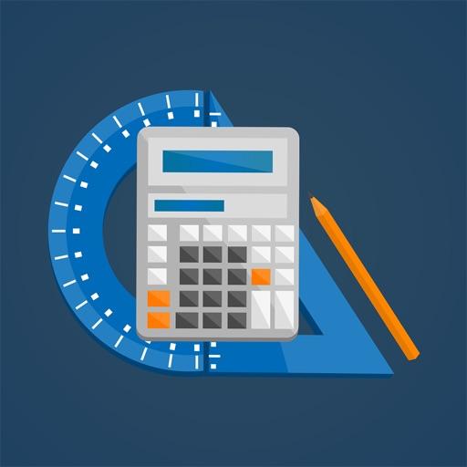 CalcBook Free - строительство и ремонт. Расчет строительных материалов. Набор функциональных калькуляторов.