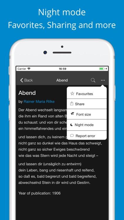 German poetry screenshot-4