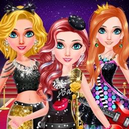 Pop Star Girls Salon Dress Up
