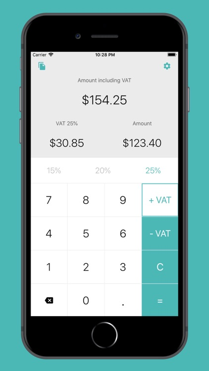Simple Calculator for VAT
