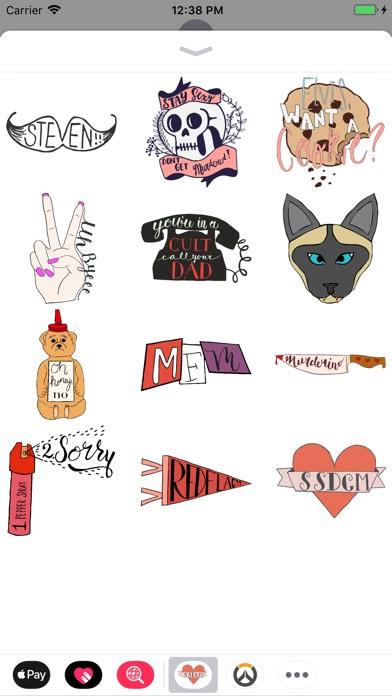 Screenshot for Stickerino - MFM Stickers in Belgium App Store