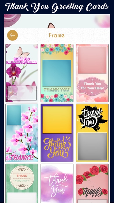 Thank You Greeting Cards Maker screenshot four