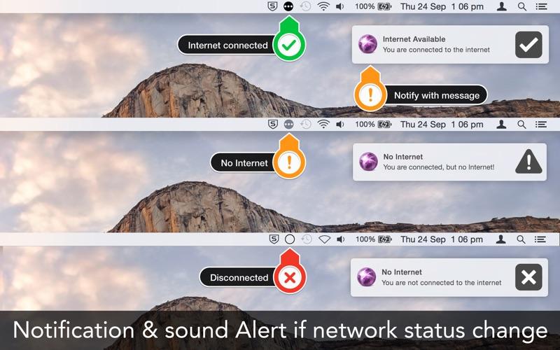 Internet Status: 网络连接状态 for Mac