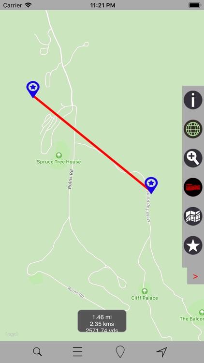 Mesa Verde National Park – GPS screenshot-4