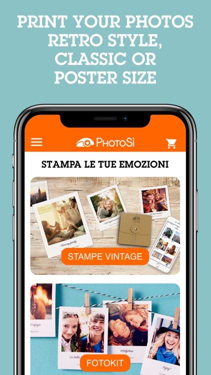 PhotoSì - Print Your Photos screenshot-0