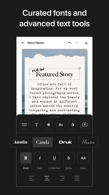 Unfold: Story & Collage Maker screenshot-5