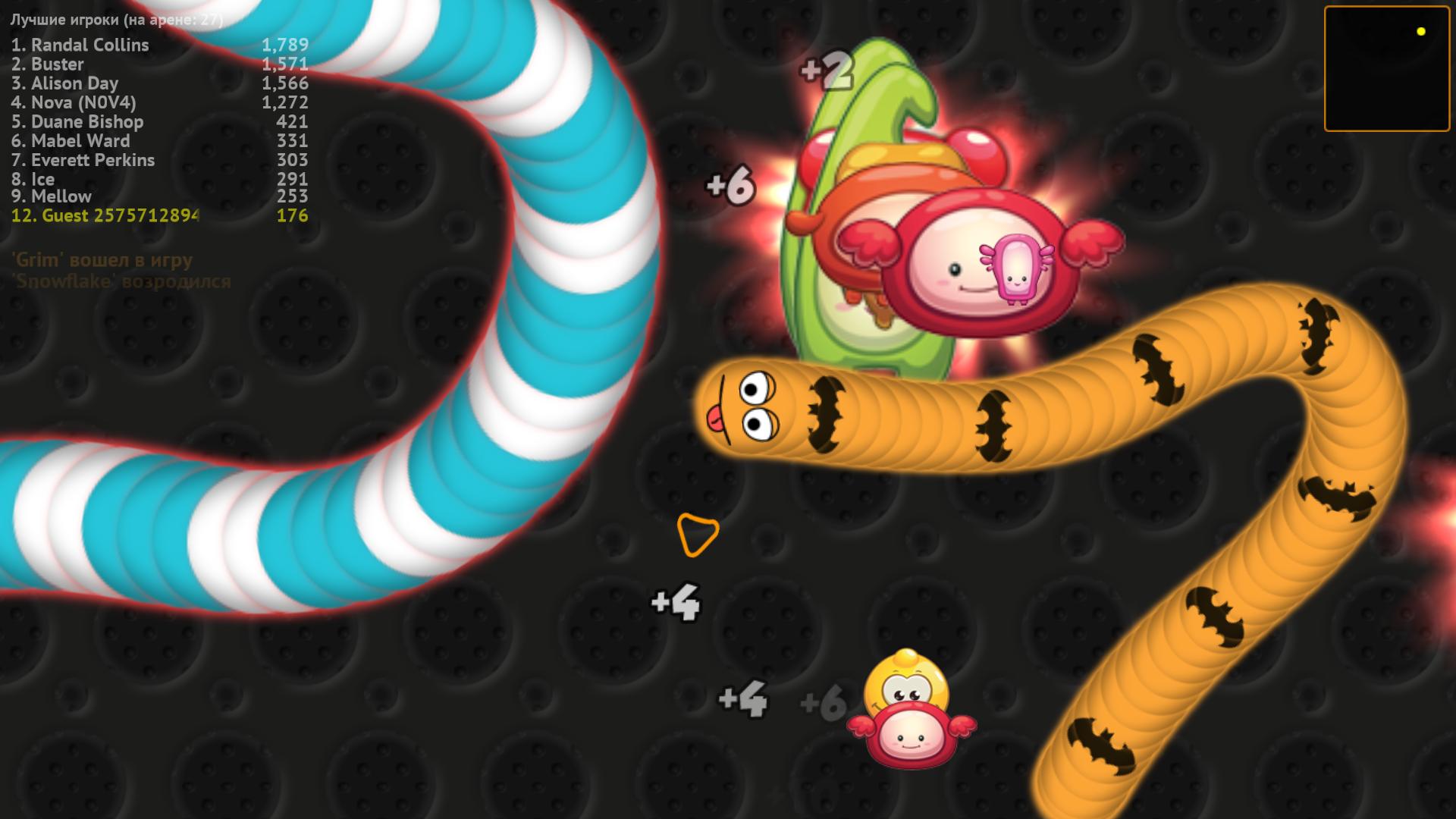 WormsZone.io - Hungry Snake screenshot 13