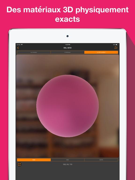 Screenshot #6 pour RAL couleur. 3D nuancier