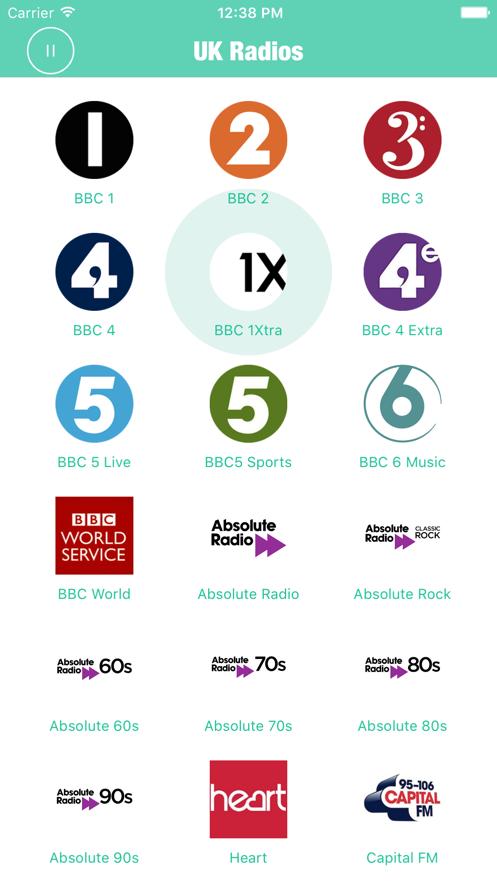 Radios UK Pro British Radio FM App 截图