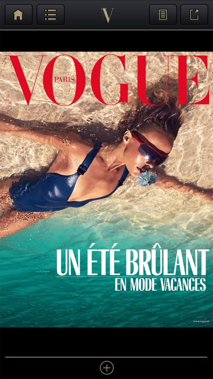 VOGUE MAGAZINE FRANCE iPhone
