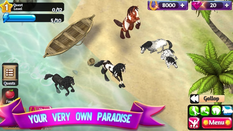 Horse Paradise: My Dream Ranch screenshot-6