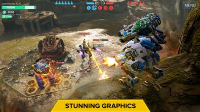 Screenshot from War Robots Multiplayer Battles