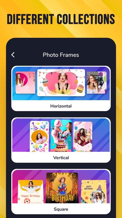 Birthday Cards - Video Maker screenshot-8