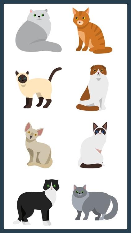 Purrrfect Meow Cat Sticker App