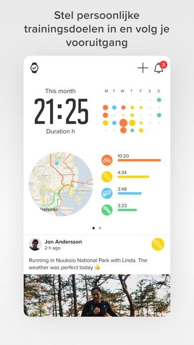 Suunto iPhone app afbeelding 1