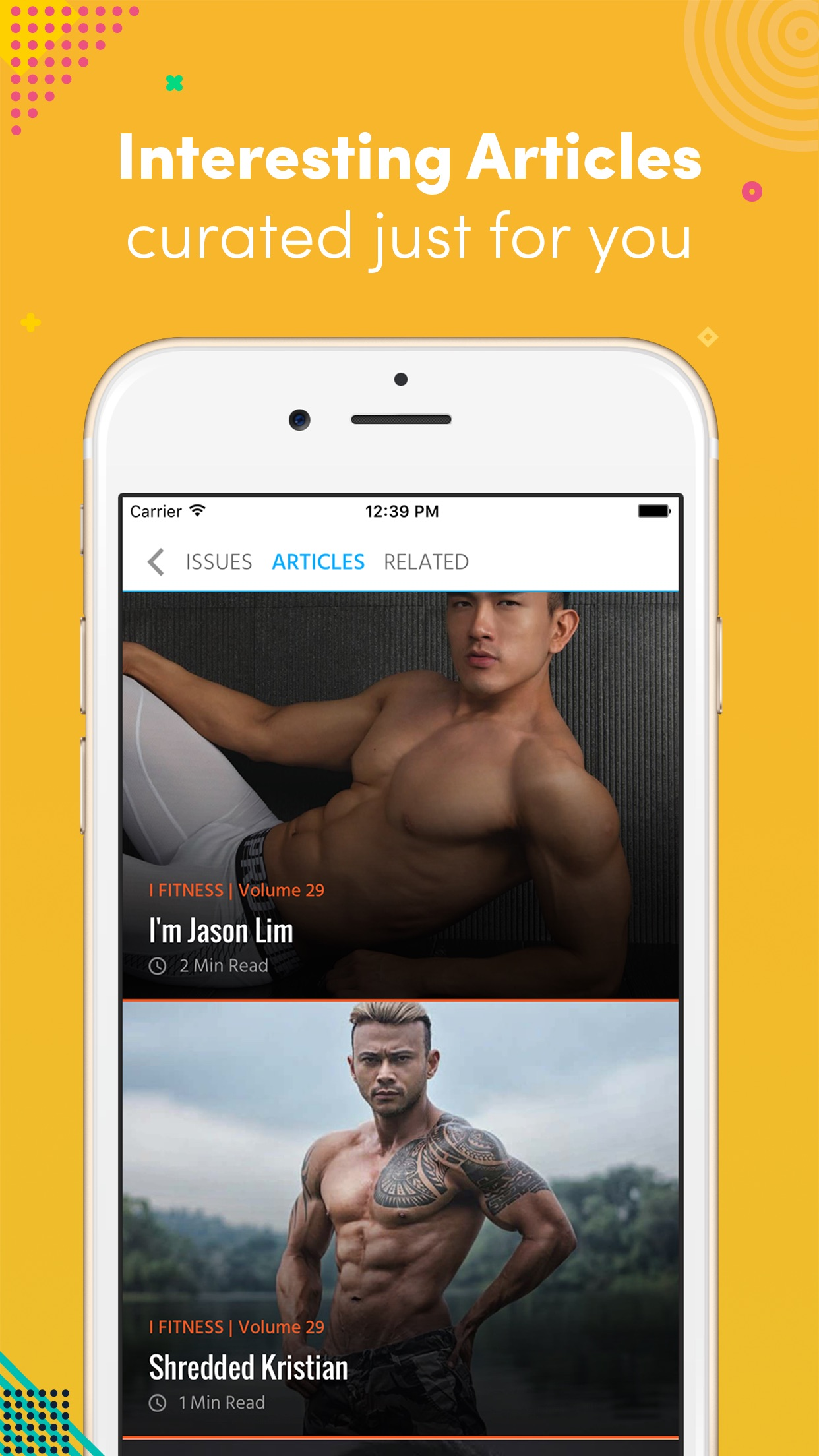 i Fitness Magazine Screenshot