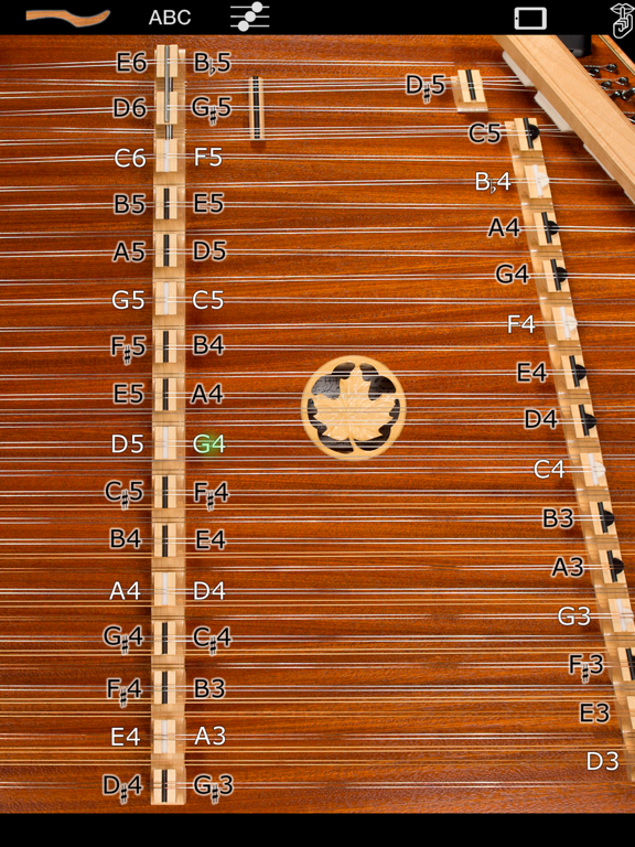 Dusty Strings D550 Dulcimer