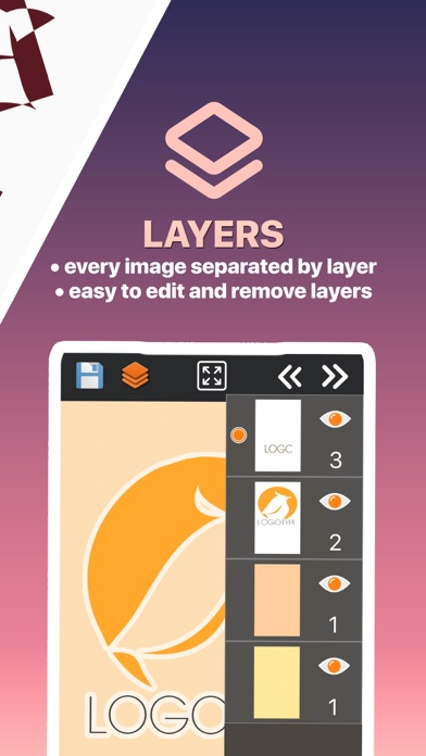 ロゴとデザインクリエイター screenshot1