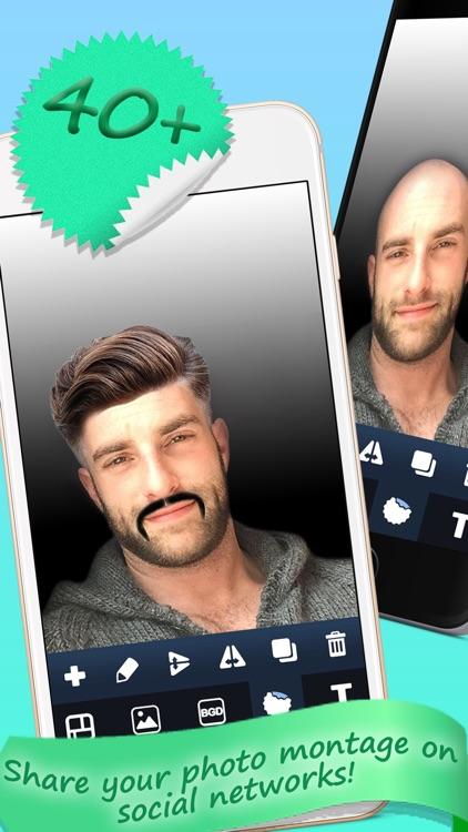 Man Hairstyle and Beard Salon screenshot-3