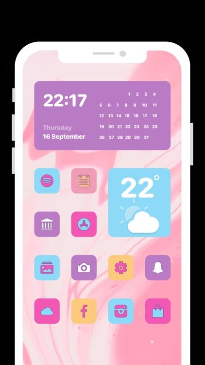 Icon Themes - Aesthetic Icon