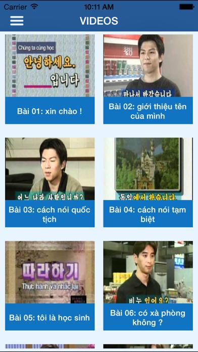 Từ Điển - Học Tiếng Hàn screenshot four