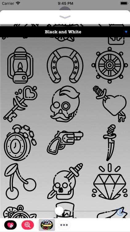Tattoo Stickers HD screenshot-3