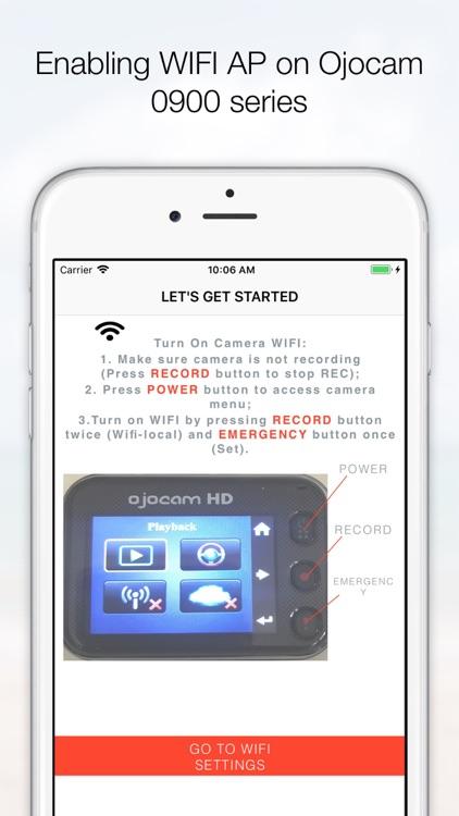 OjoLink Dash Cam App