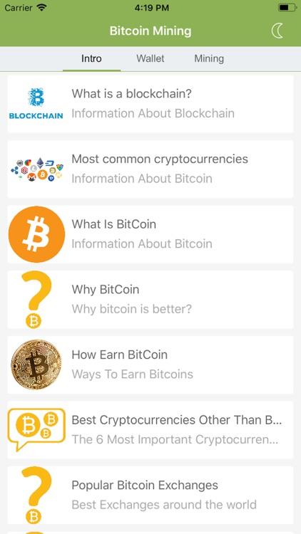 Bitcoin Learn & Mine