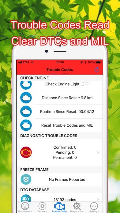 OBD-II Command Diagnostic Screenshot 4