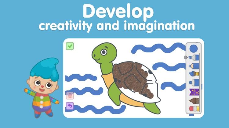 Kids games - Bimi Boo Academy screenshot-6