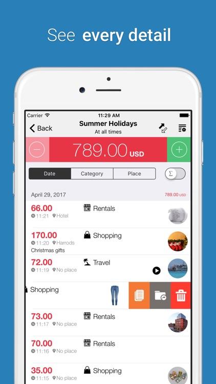 Cost Track - Expense Tracker screenshot-3
