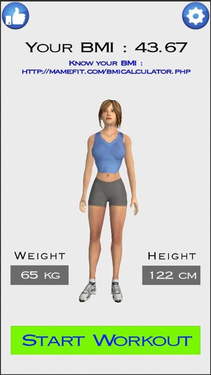 7 Min Workout by MakeMeFit screenshot-4