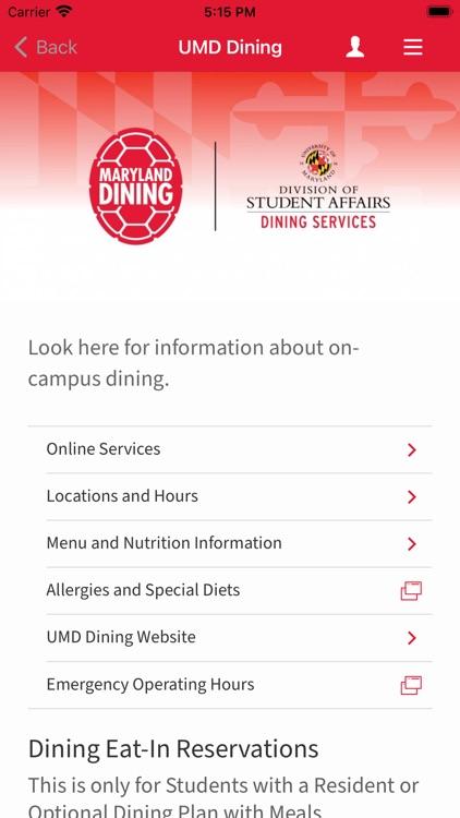 University of MD screenshot-4