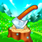 App Icon for Idle Lumberjack 3D App in United States IOS App Store