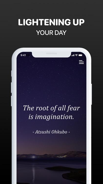 Self Remind: Motivation Quotes screenshot-5