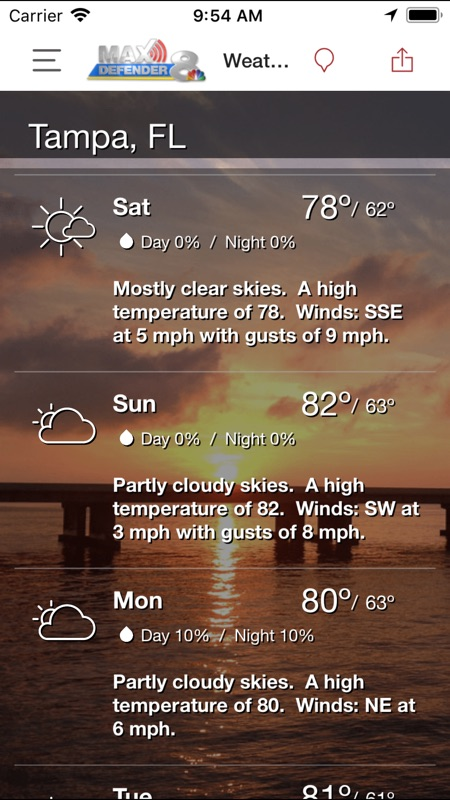 9 10 news weather app