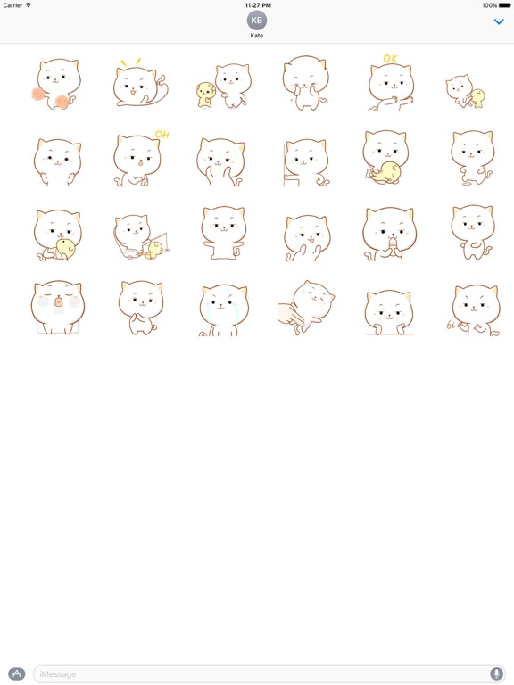 big face cat animated stickers app price drops Cat TV screenshot 1 for big face cat animated stickers