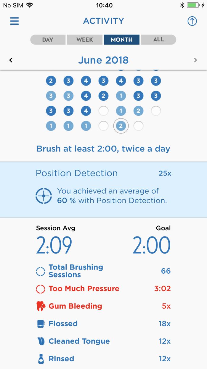 Oral-B App Screenshot