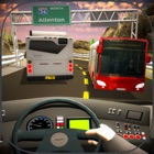 Ônibus rodoviário Bus 3D icon