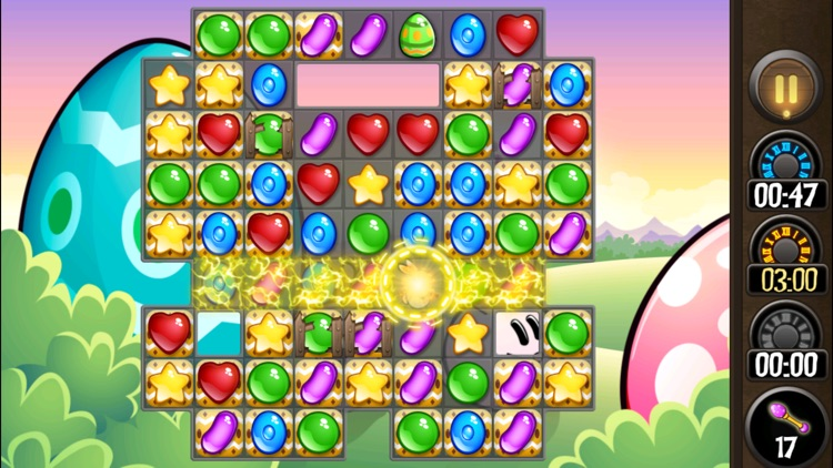 Candy Jewel Easter Match 3