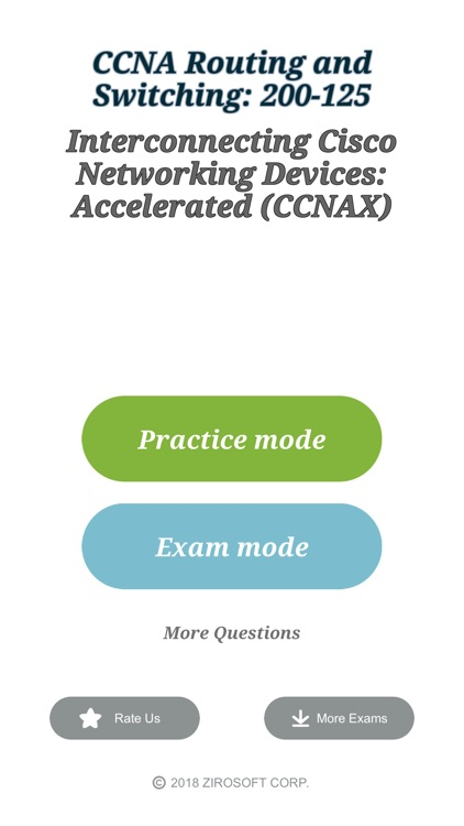 Cisco CCNA 200-125 Exam