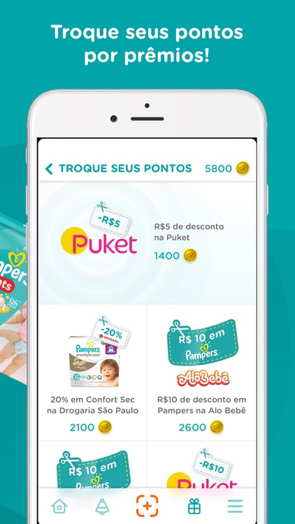 Pampers Clube: Recompensas screenshot-4