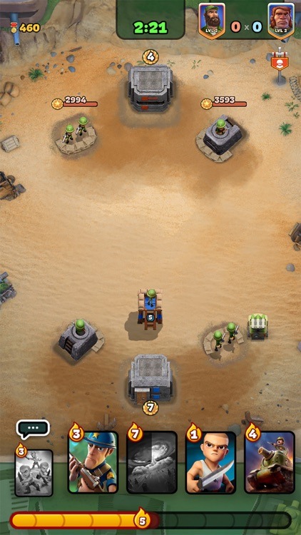 War Heroes Strategy Card Games screenshot-5