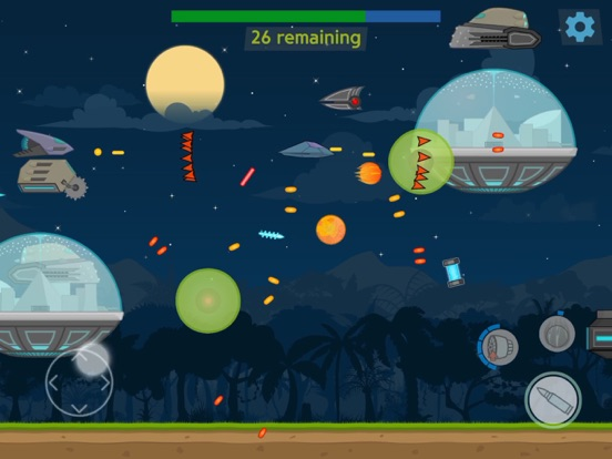 Screenshot 1 Triangle Shooter: The Invaders
