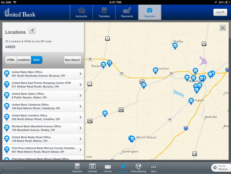 United Bank Ohio for iPad screenshot-3