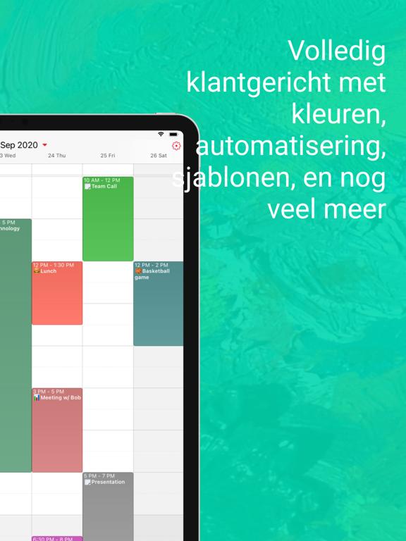 WeekCalendar - Cloud Kalender iPad app afbeelding 2