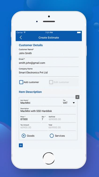Quick Invoice Maker screenshot-4