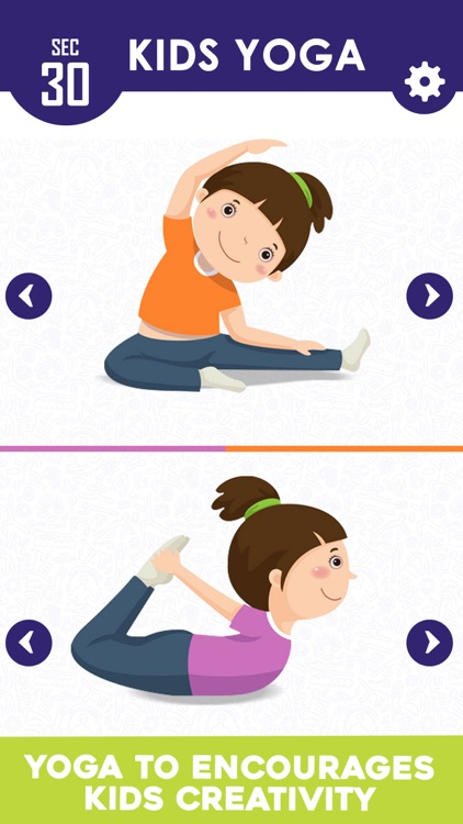 Yoga For Kids Daily Fitness screenshot-3